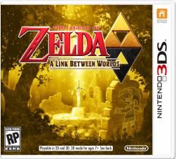 The Legend of Zelda: A Link Between Worlds - Seminovo - Nintendo 3DS