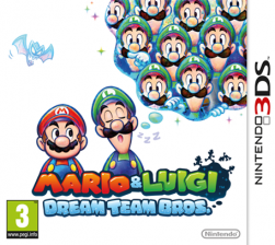 Mario & Luigi: Dream Team - Seminovo - Nintendo 3DS
