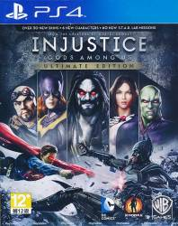 Injustice: Gods Among Us - Ultimate Edition - Seminovo - PS4