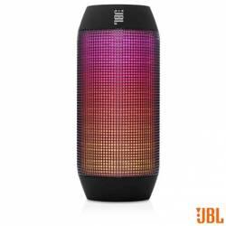 Caixa Acústica JBL Pulse com Bluetooth e Frequência 100Hz a 20KHz Bivolt Preta
