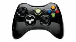 Controle Wireless Chrome Series Black Microsoft - Xbox 360