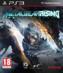 Metal Gear Rising: Revengeance - Seminovo - PS3