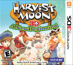Harvest Moon 3D: A New Beginning - Seminovo - Nintendo 3DS