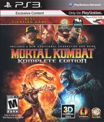 Mortal Kombat 9: Komplete Edition - PS3