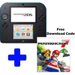 Console Nintendo 2DS Vermelho c/ Mario Kart 7 ( download )