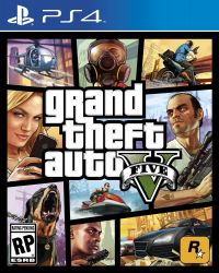 Grand Theft Auto V - GTA 5 - PS4