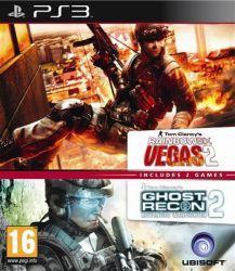 Rainbow Six Vegas 2 & Ghost Recon: Adv. Warfighter 2 Bundle - PS3