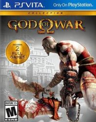 God of War Collection - Seminovo - PSVITA (s/ case)