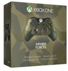 Controle Sem Fio Edição Armed Forces Camuflado - Xbox One