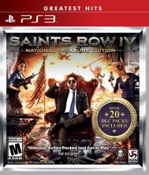 Saints Row IV: National Treasure Edition - PS3