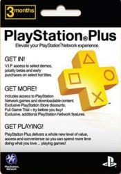 Cartão PSN Plus 3 Meses