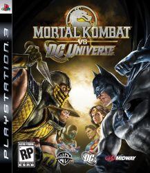 Mortal Kombat vs. DC Universe - Seminovo - PS3