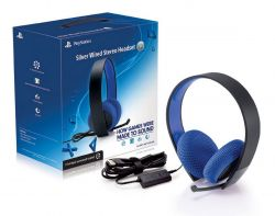 Headset com fio Pulse Silver Edition - PS3 / PS4 / PSVITA / PC