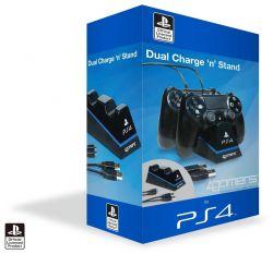 Carregador Duplo para Controle + Cabo Usb - Dual Charge - PS4