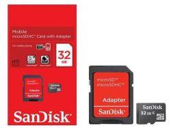 Memória SD/Micro SD 32gb - Sandisk