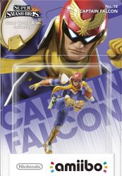 Amiibo: Captain Falcon - Wii U