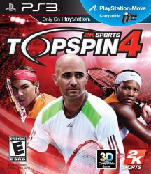 Top Spin 4 - Seminovo - PS3