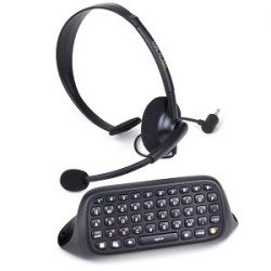 Kit Messenger Chatpad + Headset - Xbox 360