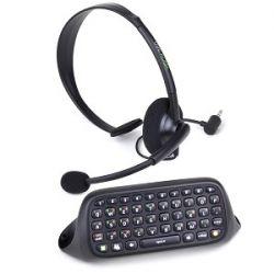 Kit Messenger Chatpad + Headset - Xbox 360