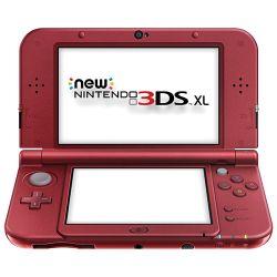 New Nintendo 3DS XL Console Vermelho (Red)