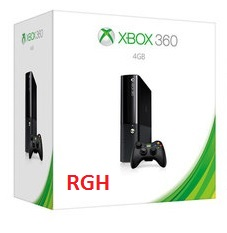 Console Xbox 360 4Gb Super Slim + Destrava RGH + 3 Jogos