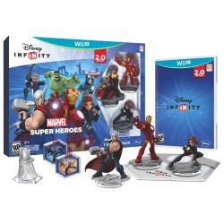 Disney Infinity: Marvel Super Heroes 2.0 Edition Starter Pack - Wii U