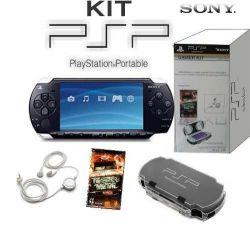 Gamer Kit - Estojo + Fone + Jogo Twisted Metal - PSP