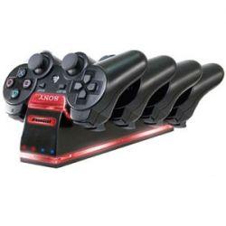 Quad Dock - Carregador para até 4 controles - PS3