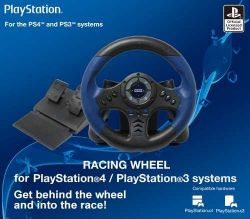 Volante Hori Racing Wheel - PS3 / PS4