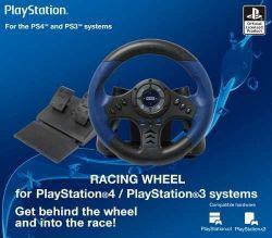 Volante Hori Racing Wheel - PS3 / PS4