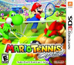 Mario Tennis Open - Seminovo - Nintendo 3DS