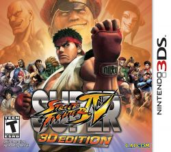 Super Street Fighter IV 3D Edition - Seminovo - Nintendo 3DS