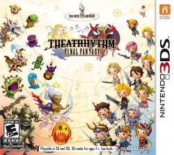 Theatrhythm Final Fantasy  - Seminovo - Nintendo 3DS