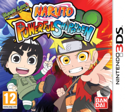 Naruto: Powerful Shippuden - Seminovo - Nintendo 3DS